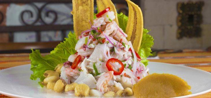 Cebiche con sabor a puro Perú