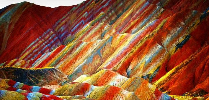 Conoce la Montaña Arcoiris en Perú